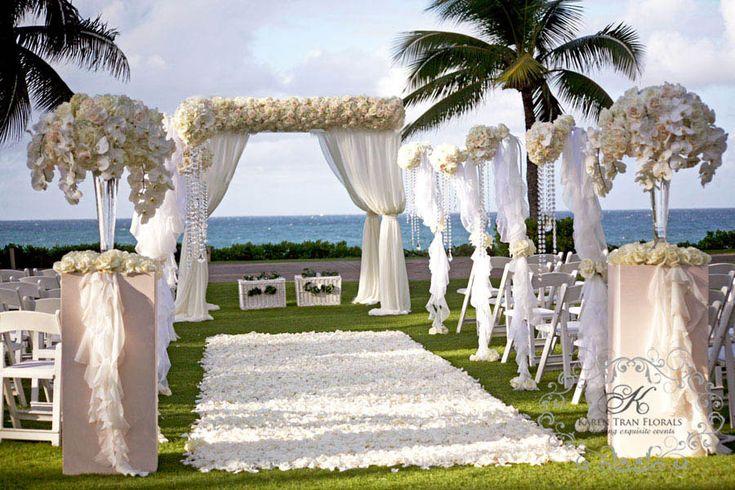 Ritz Carlton Kapalua Bay, Maui Karen Tran Florals.