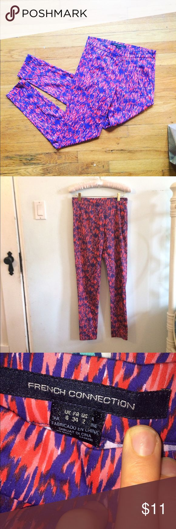French Connection Leggings/Joggers Cool pants by french connection. I don't know what to label them because they aren't stretch like leggings but they fit like them. No flaws. I discount bundles 25%, all offers considered! French Connection Pants Leggings