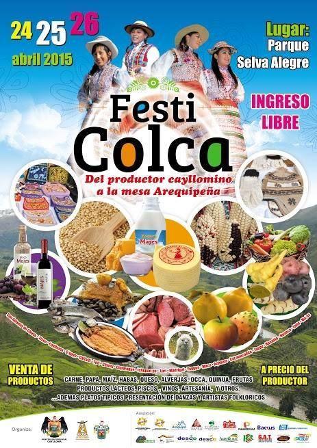 24, 25 y 26 Festi Colca en Arequipa