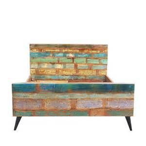 Suche Bett bunt aus recyceltem altholz summerville. Ansichten 144725.