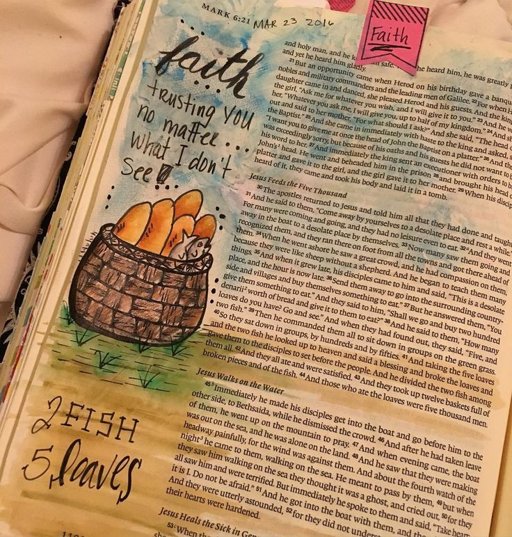 My Bible Journaling Page From Todays Devotion 2fish5loaves Faith Biblejournaling Journalingbible