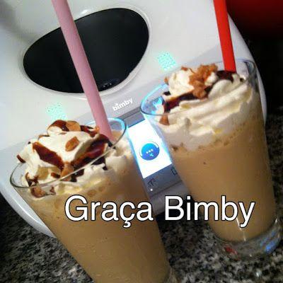 .: Milkshake de caramelo.