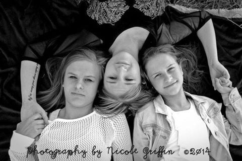 Sisters.  Photography by Nicole Griffin
