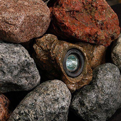 Submersible Rock Light - Underwater Pond Light - Water Garden Rock Lights - $49.89