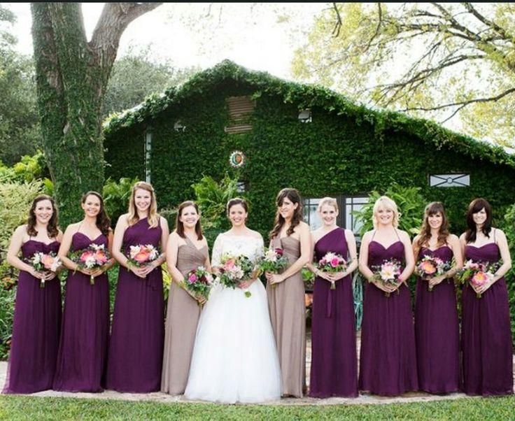Inspiracoes para decoracao do casamento em tom de rosa e roxo
