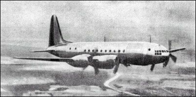 The Ilyushin Il-18 was a Soviet four-engined airliner designed and built by Ilyushin immediately after World War II. Although the aircraft itself was successful, its Shvetsov ASh-73TK engines were too unreliable for civilian use and were further needed to equip the Tupolev Tu-4 bomber, so it was cancelled in 1948.