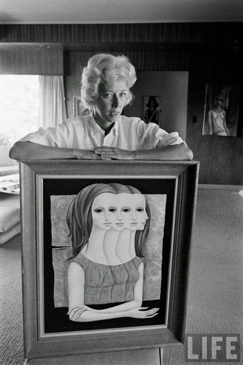 GOLDEN DREAMLAND: California Artist Spotlight: Margaret Keane