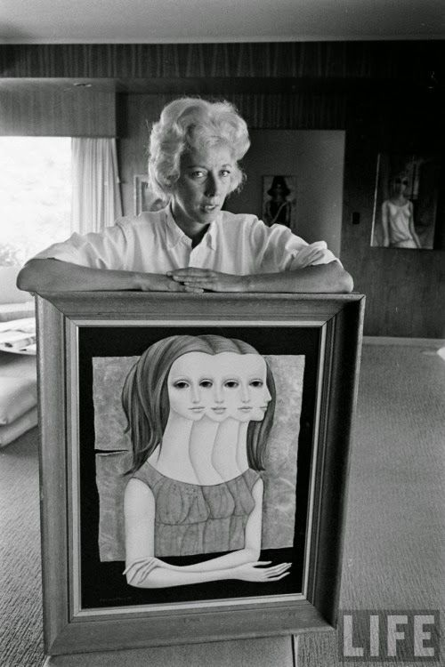 GOLDEN DREAMLAND: California Artist Spotlight: Margaret Keane