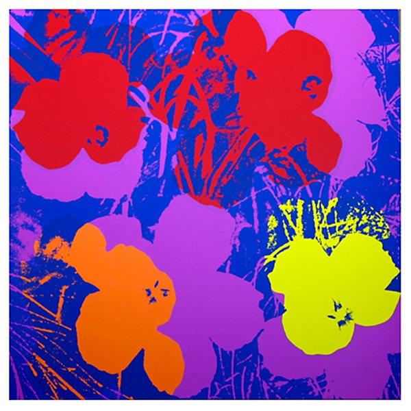 One Kings Lane - Contemporary Gallery - Sunday B. Morning, Warhol Flowers VIII