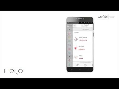 Smartband WORlD HELO™ First Steps - YouTube