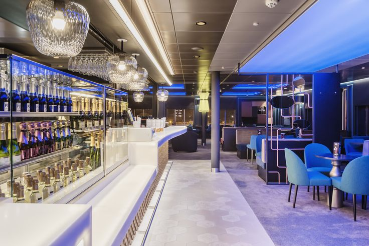 Bar & Restaurant design, Sea Pub at Tallink Megastar ferry
