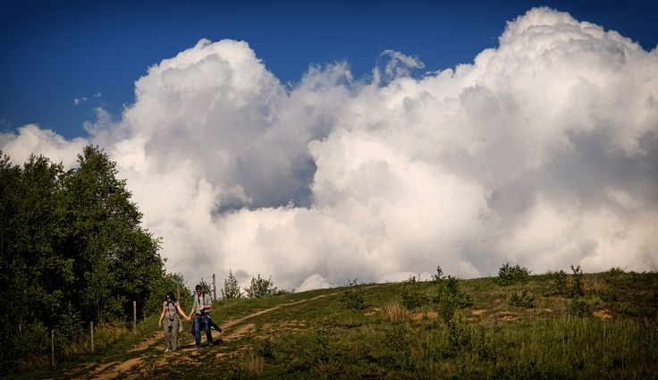 Coming out of the sky - Svanninge Bjerge - southwest Funen, Denmark...   Flickr - Photo Sharing!