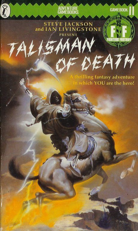 Just finished reading this excellent game book... one of the best of the fighting fantasy series