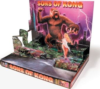 Sons of Kong: 10 Full-Length Movies on 3-DVDs (3D Pop-Up Case) (2005) Starring Bela Lugosi, Boris Karloff, Mantan Moreland, Buster Crabbe, Ray Corrigan & Lon Chaney, Jr.; Alpha Video | OLDIES.com