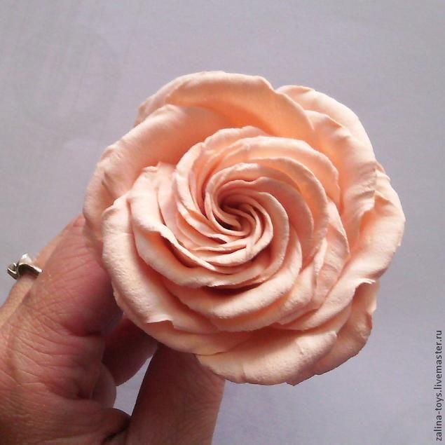 Делаем розы из фоамирана на примере венка-повязки - Ярмарка Мастеров - ручная работа, handmade