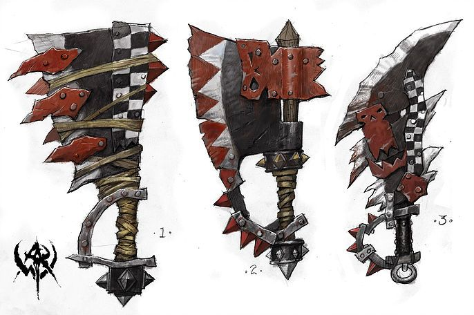 20 Orc Named Magical Weapons | Black Shark Enterprises Home on the Web