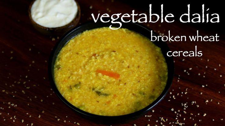 daliya recipe, vegetable daliya khichdi, broken wheat recipe with step by step photo/video. healthy cereal recipe as kids recipe