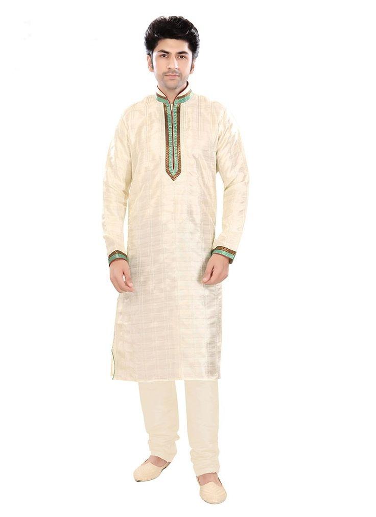 Shop Online Cream Silk #ClassicSherwani @Chennaistore.com