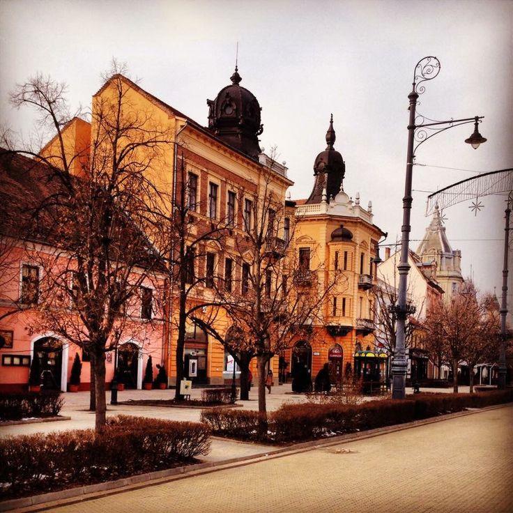 City centre of Debrecen, Hungary