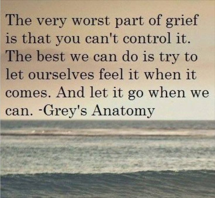 Quote from Grey's Anatomy
