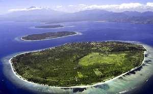 The Gili Islands (Indonesian: Tiga Gili [Three Gilis], Kepulauan Gili [Gili Islands]) are an archipelago of three small islands — Gili Trawnagan, Gili Meno and Gili Air — just off the northwest coast of Lombok, Indonesia.
