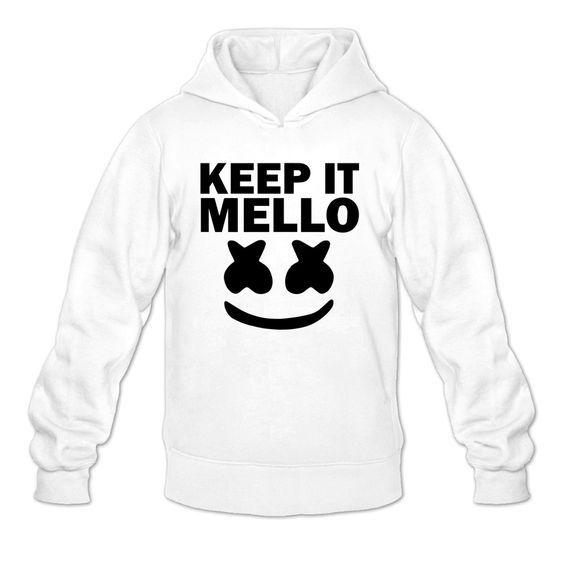 20c1f8f46d4 Marshmello Keep It Mello Hoodie   Hoodie in 2019   Cool hoodies ...
