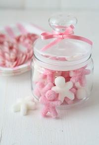 Terrones de azucar decorados