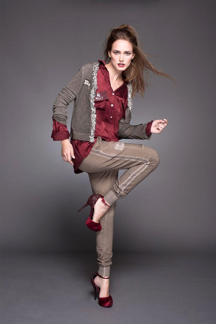 #lineatre #camisa #lentejuelas #chaqueta