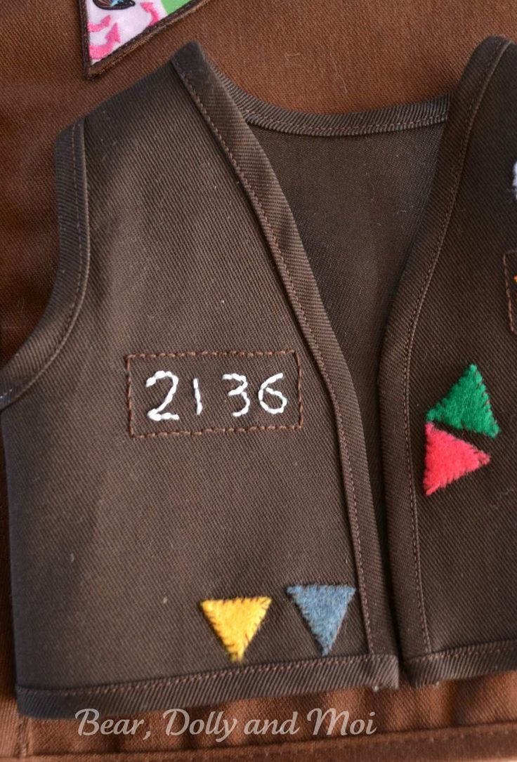 Worksheet Brownie Vests 1000 ideas about brownie vest on pinterest girl scout the vests are made for miss c s doll troop based on