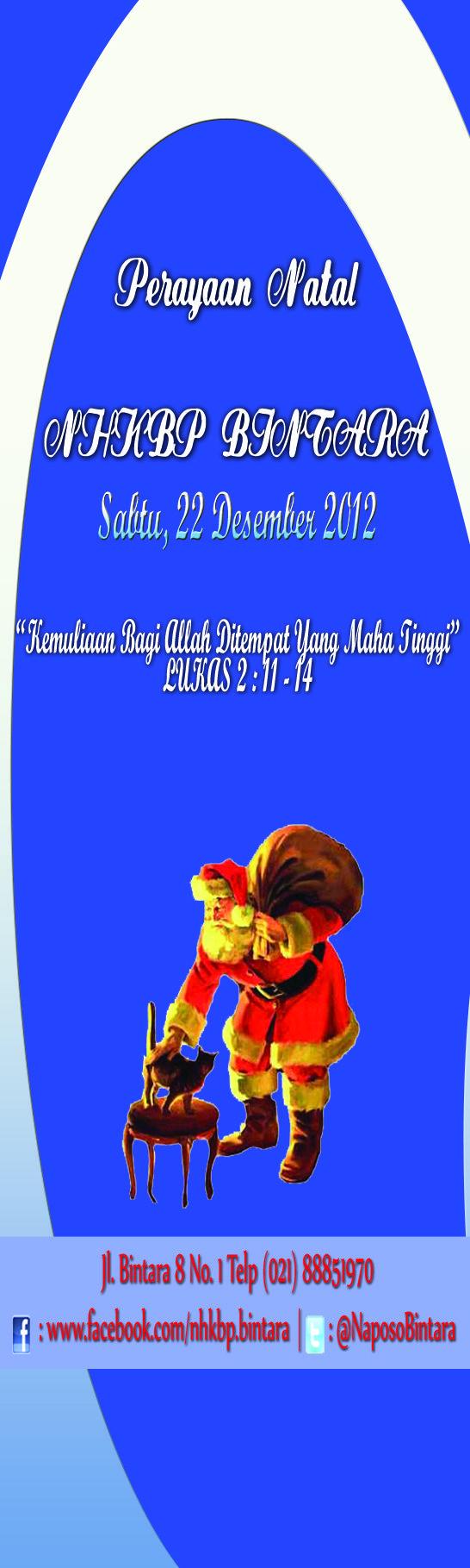 Christmas Card HKBP Bintara