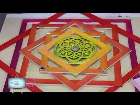 Ana nos enseña a pintar un mandala geométrico con una técnica muy fácil!!!