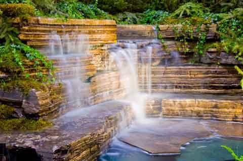 1000 Images About Waterfalls On Pinterest Backyard Waterfalls Pond Waterfall And Backyard Ponds