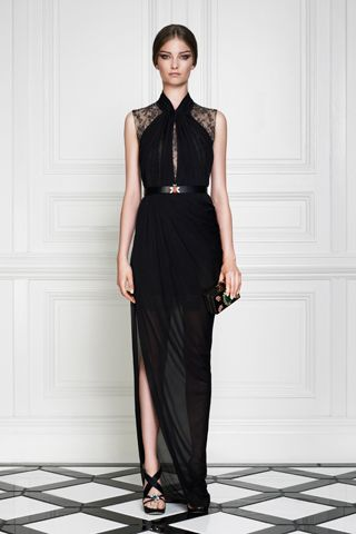 Jason Wu Black Lace Sheer