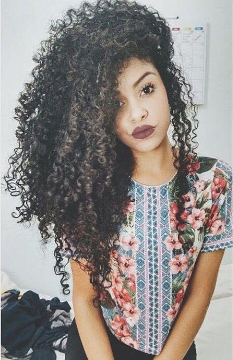 Amaria tener el pelo asi algun día