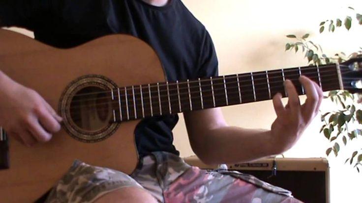 Relaxing acoustic guitar song -  Morning Sun guitar cover by Deaktee - acoustic guitar tab - acoustic fingerpicking guitar song