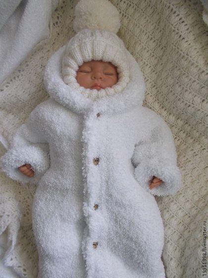 Конверт Мишутка - белый,однотонный,для новорожденного,для новорожденных