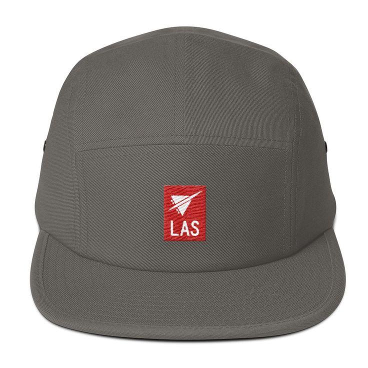 LAS Las Vegas Airport Code 5-Panel Cap