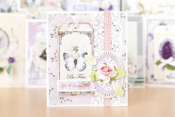 Ultimate Crafts Rambling Rose cards #cardmaking #papercraft #creative #antique #beautiful #paper #card #design #floral #pretty #dainty #inspiration #cute #interesting