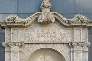 United Fruit Company Building in New Orleans Louisiana