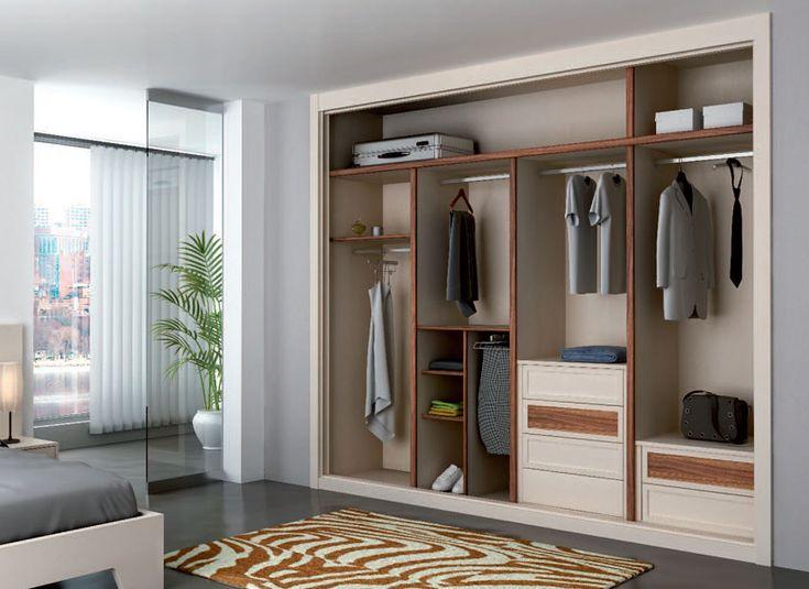 Mejores 14 im genes de interiores armarios en pinterest for Armarios empotrados interiores fotos
