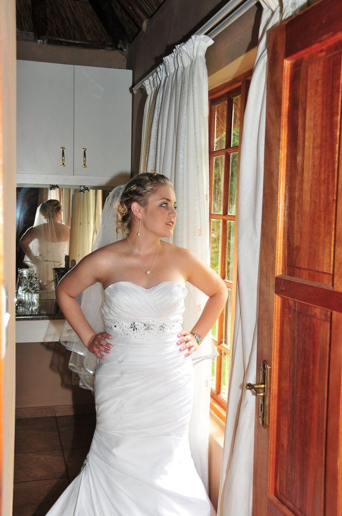 Wedding dress by Ivory Lace Bridal (http://ivorylace.co.za/)