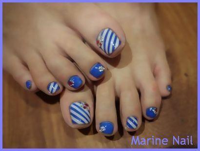 Best 25 marine nails ideas on pinterest nautical nails sailor marine nail toenails design prinsesfo Images