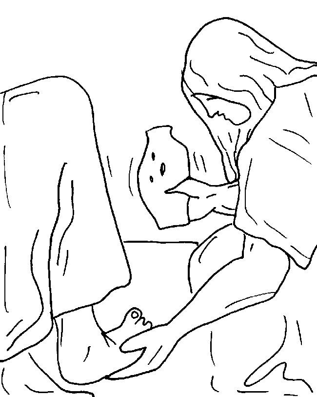 matthew 8 coloring pages - photo#25