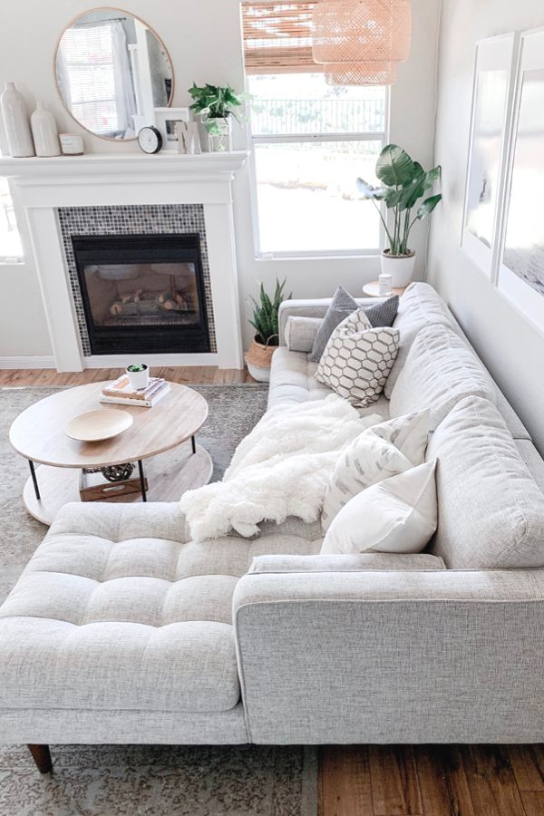 1999 This Ivory Sectional Sofa Is Super Versatile It S Ready