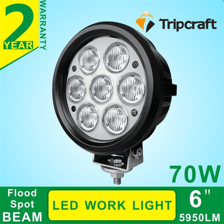 Car accessories for spare!! led working light 10-30v auto 70W led work light for cars ,mining hunting and fishing