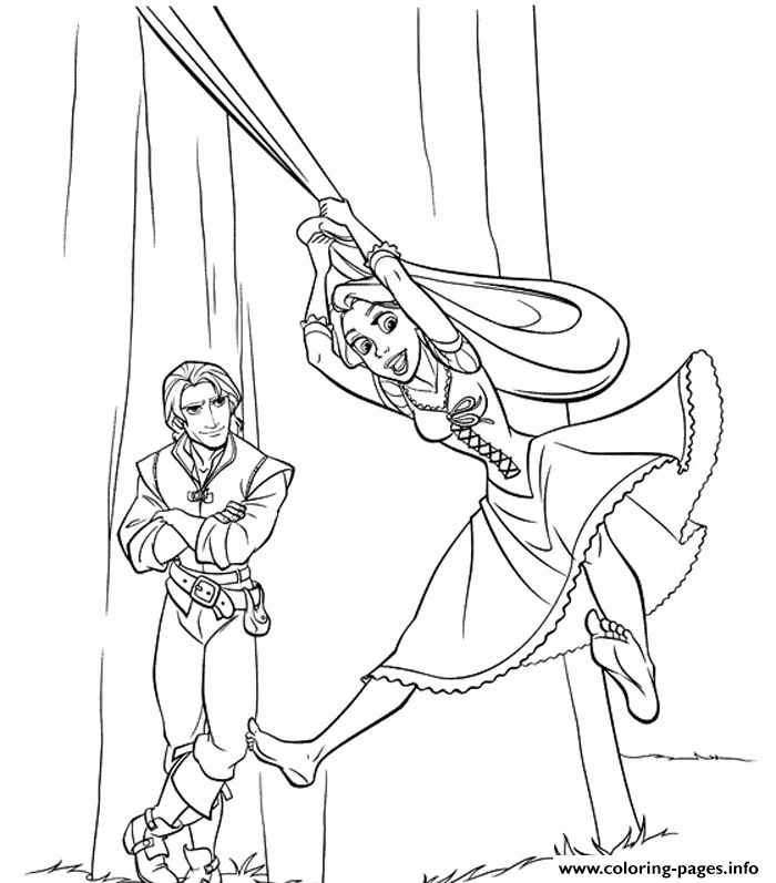 Young Rapunzel Coloring Pages 56 best Sam images on ...