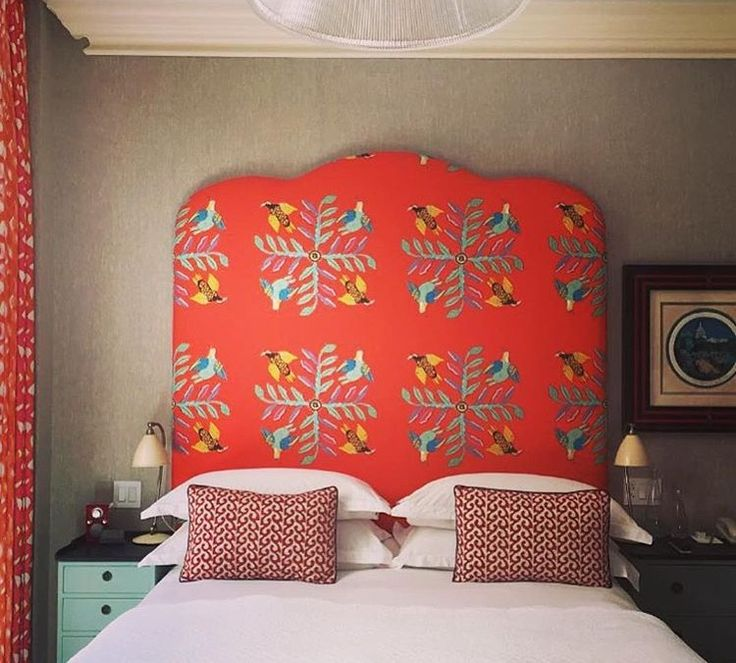 Our beautiful Bird Crossing Sunset material been used by Kit kemp in the Crosby Street  Hotel.