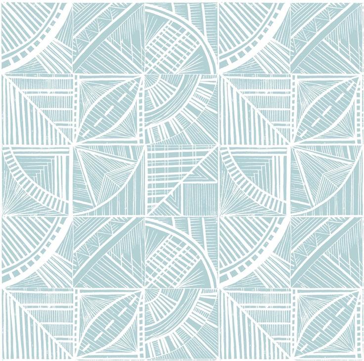 End paper lino print