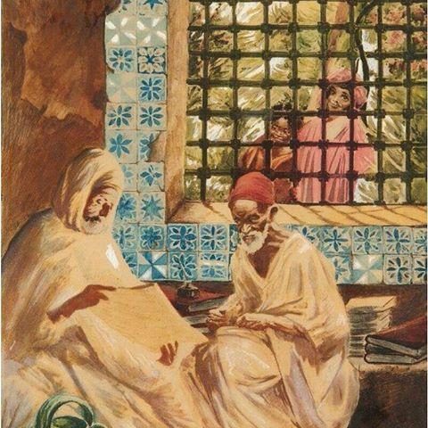 قراءة القرآن La lecture du Coran Roger Jouanneau Irriera ,Peintre Français (1894_1957) #algerie #algeria #peinturedalgerie #art #art #artwork #artofinstgram #paint #painting #oilpainting #الجزائر #الجزائر_المحمية_بالله #تاريخ_الجزائر #التراث_الجزائري #اللباس_التقليدي_الجزائري #لوحات_فنية_جزائرية #لوحة_فنية #اعرف_بلادك_وعرف_بيها #اعرف_بلادك_الجزائر_وعرف_بيها
