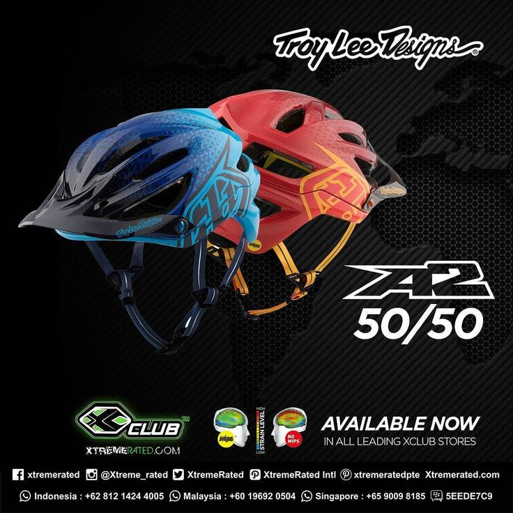 Troy Lee Designs MTB A2 Helmet  Availaible now at XClub leading stores!